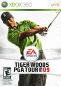 Tiger Woods PGA Tour 09 Xbox 360 Front Cover