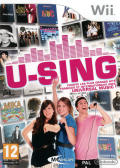 U-Sing Wii Front Cover