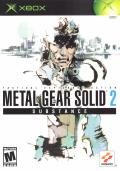Metal Gear Solid 2: Substance Xbox Front Cover
