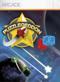 Puzzlegeddon Xbox 360 Front Cover