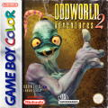 Oddworld Adventures 2 Game Boy Color Front Cover