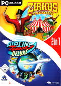 2in1: Zirkus Tycoon + Airline Tycoon Deluxe Windows Front Cover