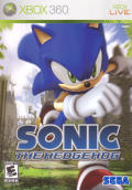 Sonic the Hedgehog Xbox 360 Front Cover