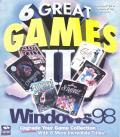 6 Great Games II: Windows 98 Windows Front Cover