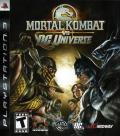 Mortal Kombat vs. DC Universe PlayStation 3 Front Cover