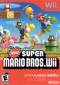 New Super Mario Bros. Wii Wii Front Cover