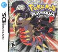 Pokémon Platinum Version Nintendo DS Front Cover