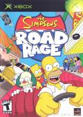 The Simpsons: Road Rage Xbox Front Cover