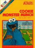 Cookie Monster Munch Atari 2600 Front Cover