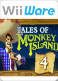 Tales of Monkey Island: Chapter 4 - The Trial and Execution of Guybrush Threepwood Wii Front Cover