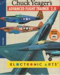 Chuck Yeager's Advanced Flight Trainer 2.0 Amiga Front Cover