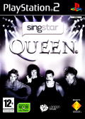 SingStar: Queen PlayStation 2 Front Cover