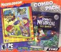 Jimmy Neutron Boy Genius / Rocket Power Extreme Arcade Games Windows Front Cover