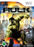 The Incredible Hulk Wii Front Cover