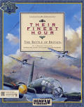Their Finest Hour: The Battle of Britain DOS Front Cover