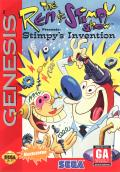 The Ren & Stimpy Show: Stimpy's Invention Genesis Front Cover