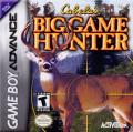 Cabela's Big Game Hunter Game Boy Advance Front Cover