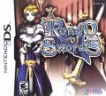 Rondo of Swords Nintendo DS Front Cover