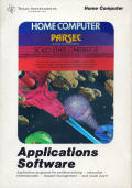 Parsec TI-99/4A Front Cover