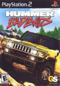 Hummer: Badlands PlayStation 2 Front Cover