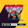 Dino Wars TRS-80 CoCo Front Cover