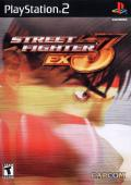 Street Fighter EX3 PlayStation 2 Front Cover