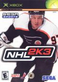 NHL 2K3 Xbox Front Cover