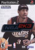 NBA 2K3 PlayStation 2 Front Cover