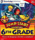 JumpStart Adventures: 6th Grade - Mission: Earthquest Macintosh Front Cover