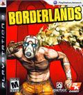 Borderlands PlayStation 3 Front Cover
