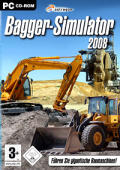 Bagger-Simulator 2008 Windows Front Cover