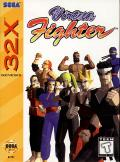 Virtua Fighter SEGA 32X Front Cover