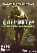 Call of Duty 4: Modern Warfare - Game of the Year Edition Windows Front Cover