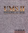 UMS II: Nations at War DOS Front Cover