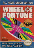 Wheel of Fortune: Junior Edition NES Front Cover