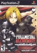 Fullmetal Alchemist and the Broken Angel PlayStation 2 Front Cover