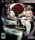 Bayonetta PlayStation 3 Front Cover