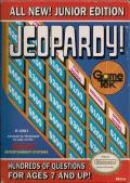 Jeopardy! Junior Edition NES Front Cover