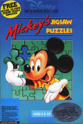 Mickey's Jigsaw Puzzles DOS Front Cover