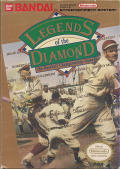 Legends of the Diamond NES Front Cover
