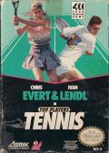 Top Players' Tennis NES Front Cover