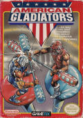 American Gladiators NES Front Cover