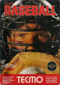 Tecmo Baseball NES Front Cover