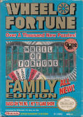 Wheel of Fortune: Family Edition NES Front Cover