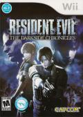 Resident Evil: The Darkside Chronicles Wii Front Cover