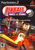 Pinball Hall of Fame: The Williams Collection PlayStation 2 Front Cover