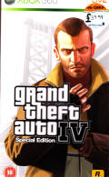 Grand Theft Auto IV (Special Edition) Xbox 360 Front Cover