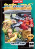 Street Fighter II: Champion Edition Genesis Front Cover