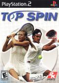 Top Spin PlayStation 2 Front Cover