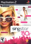 SingStar: '80s PlayStation 2 Front Cover